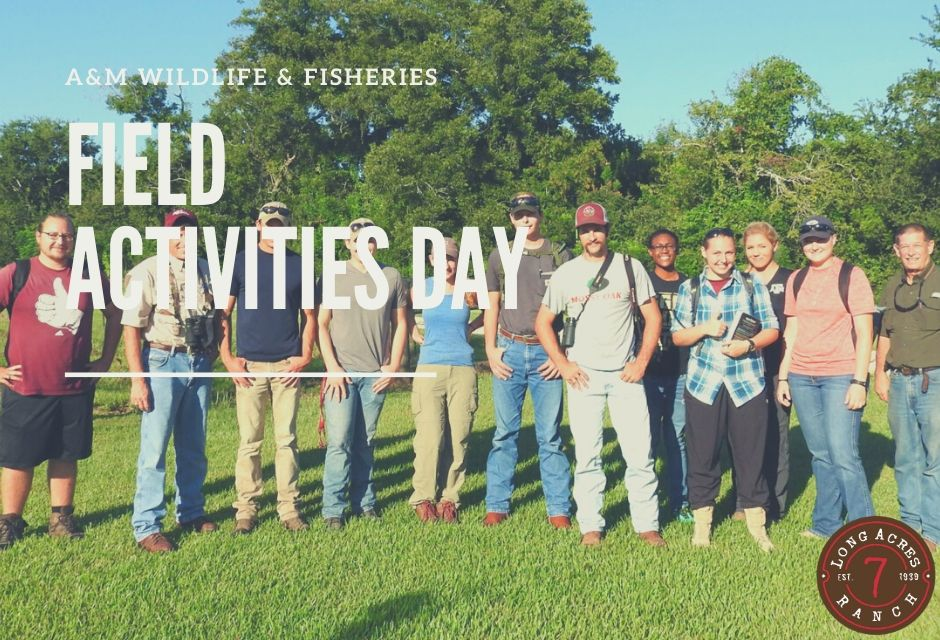 Texas A&M Wildlife and Fisheries Field Activities Day