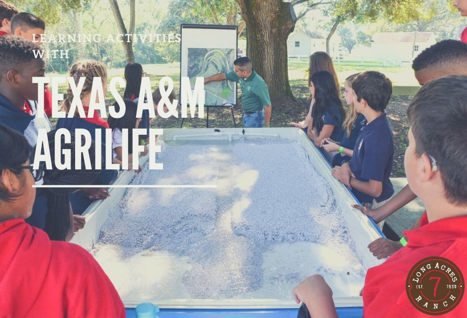 Students Visited for Learning Activities with Texas A&M AgriLife Extension Service