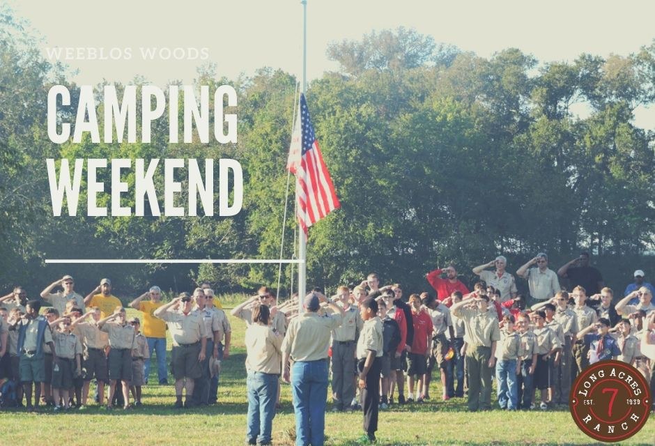 Webelos Woods Boy Scout Camping Weekend