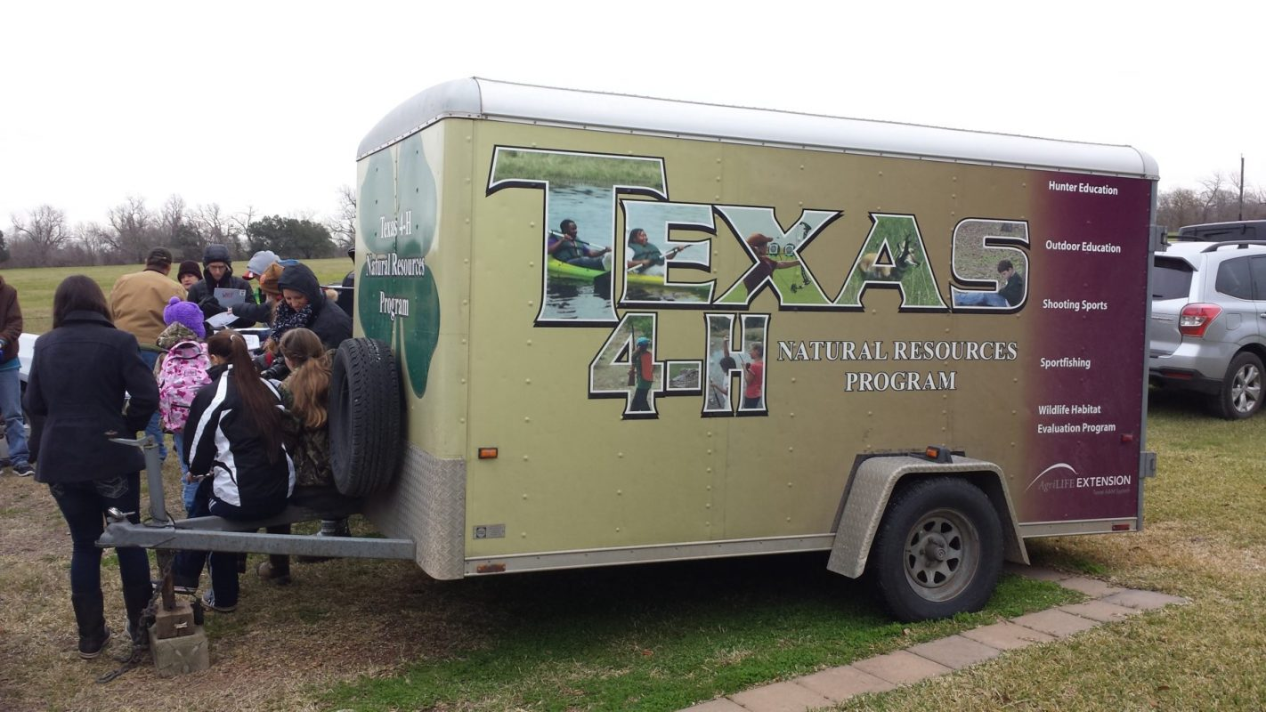Texas A&M AgriLife Extension Service Outdoor Educational Activites
