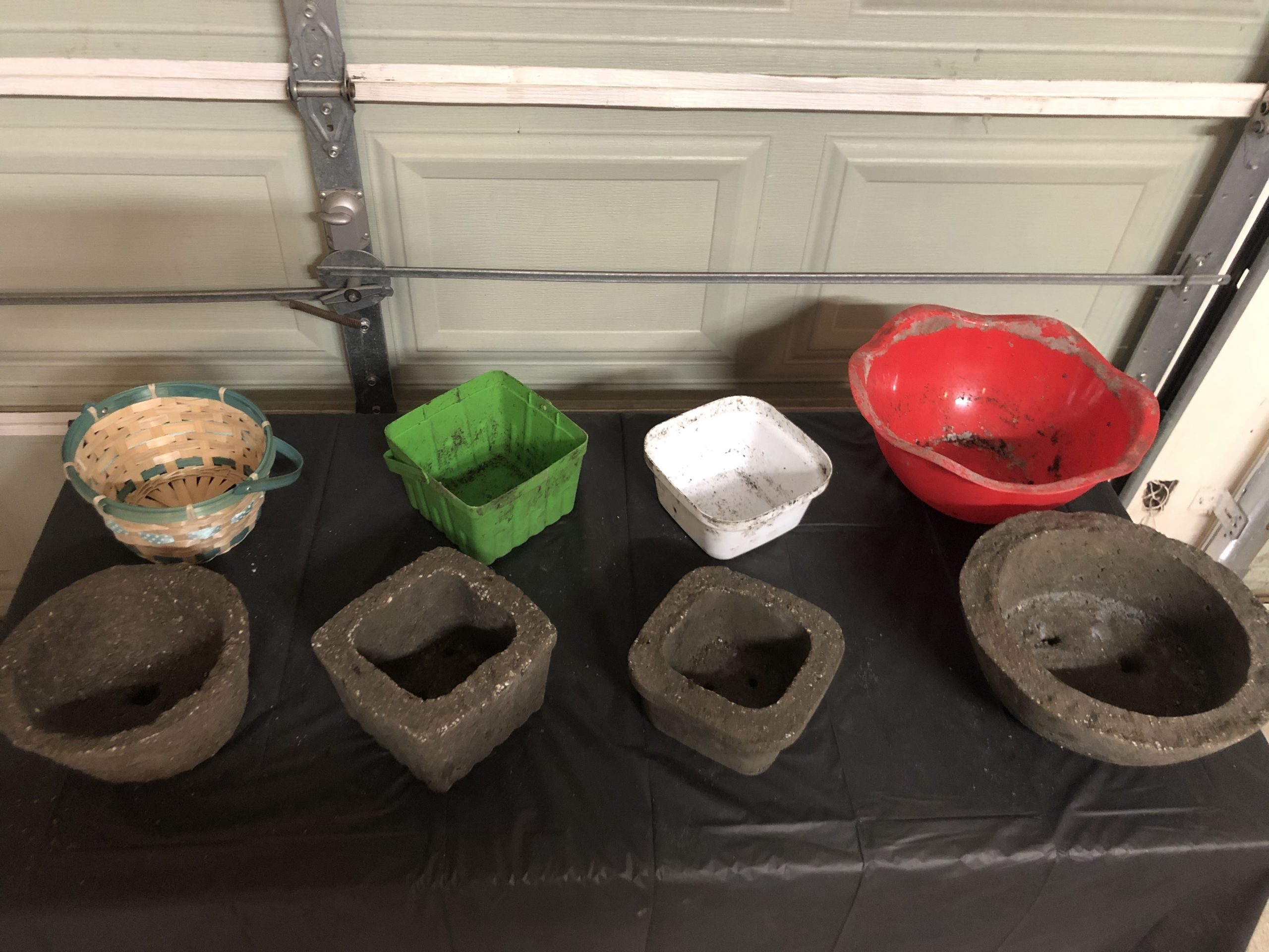 Making Hypertufa Pots