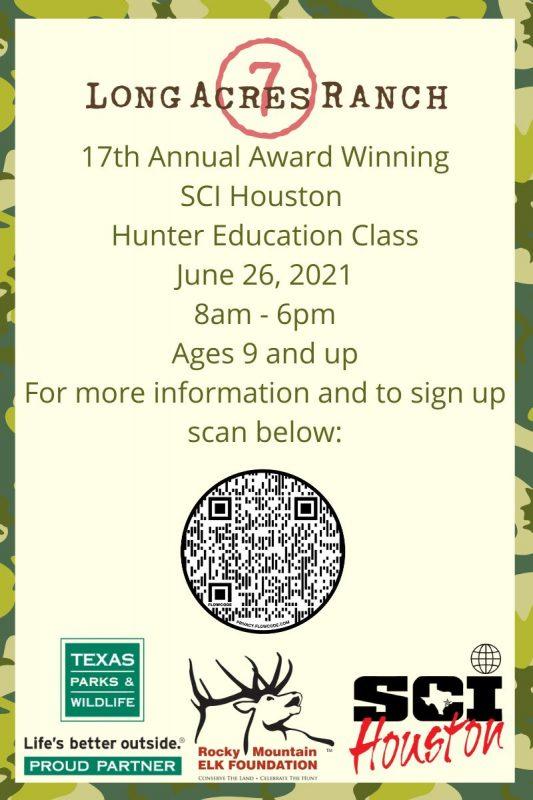 SCI Hunter Ed Course